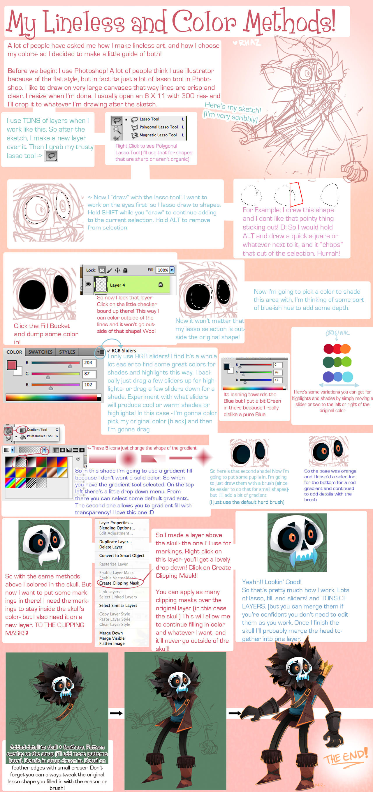 Lineless and coloring tutorial by magicbunnyart on deviantart lineless and coloring tutorial by magicbunnyart lineless and coloring tutorial by magicbunnyart baditri Image collections