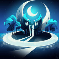 Lunar Temple by MagicBunnyArt