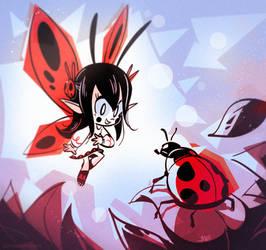 Ladybug Fairy by MagicBunnyArt