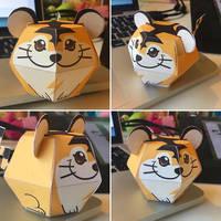 Beta Tiger Pokemon Papercraft