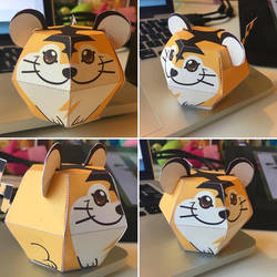 Beta Tiger Pokemon Papercraft