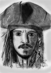 Captain Jack Sparrow by kiringan