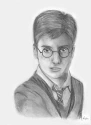 Harry Potter by kiringan