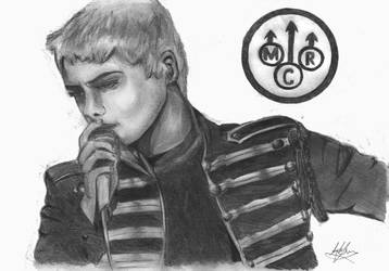Gerard Way The Black Parade by kiringan