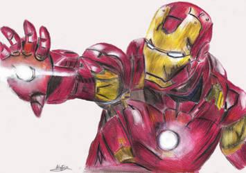 Iron Man by kiringan