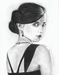 Eva Green by kiringan