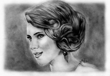 Scarlett Johansson by kiringan