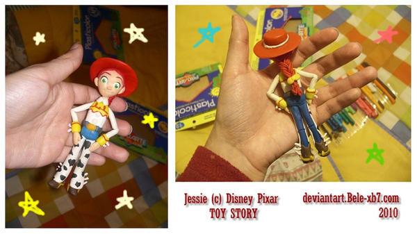 Jessie in plastiline :3 by Bele-xb7