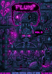 FLUMP VOL.3 COVER. by FLUMPCOMIX