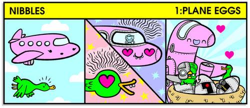 Nibbles - 1:Plane Eggs by FLUMPCOMIX