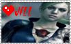 Jill Valentine Stamp 2 :3 by Lady-Mrs-Wesker