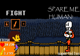 If Undertale was Turn-Based by supertailss