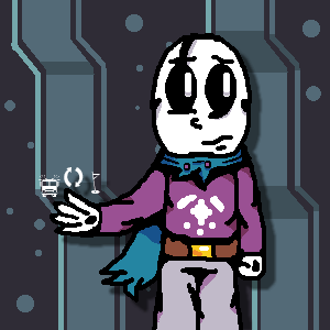 Gaster as a caretaker by souptaels