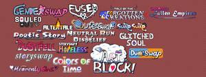 Various Undertale AU Logos (+Requests) by souptaels
