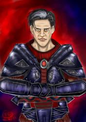 Werewolf Warrior Reesh by fraucoreyschneider