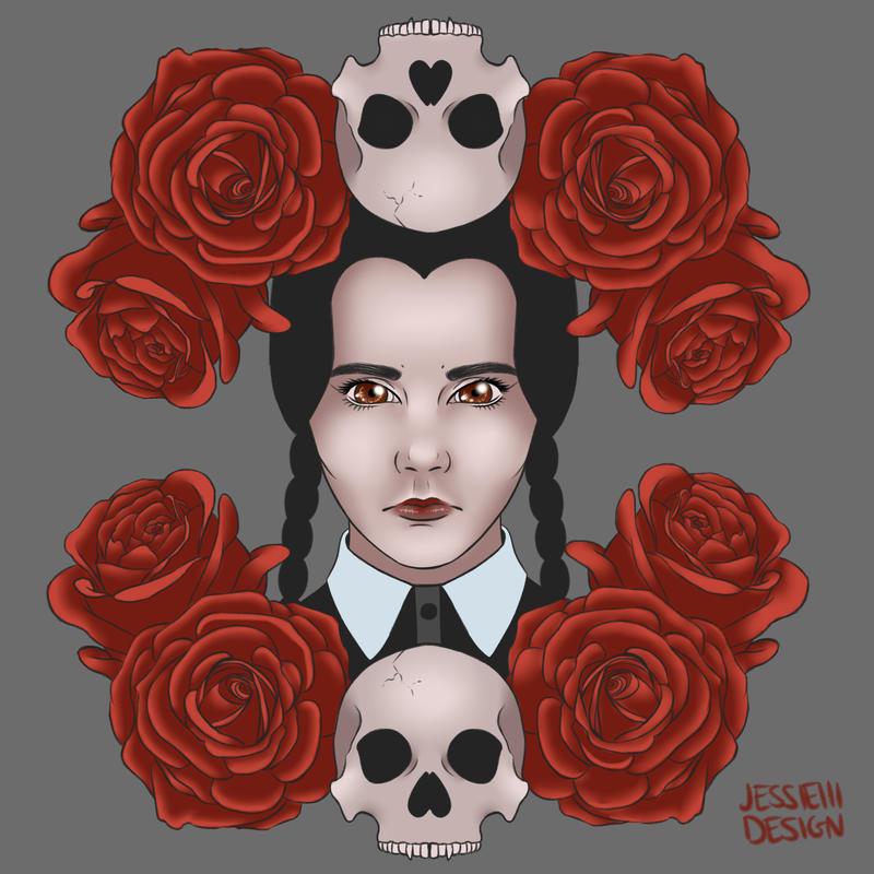Wednesday Addams by jessieiii