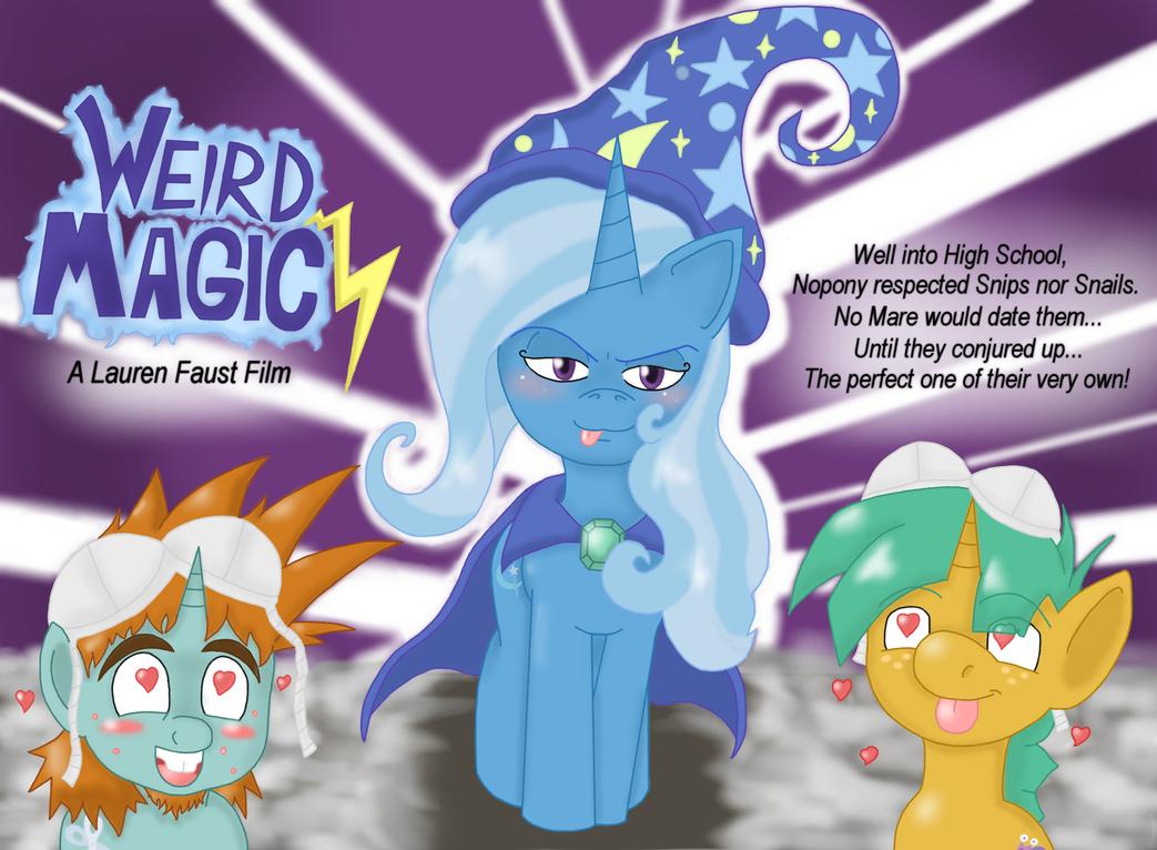 Weird Magic by BlackBeWhite2k7
