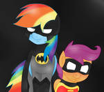 The Dynamic Duo by BlackBeWhite2k7