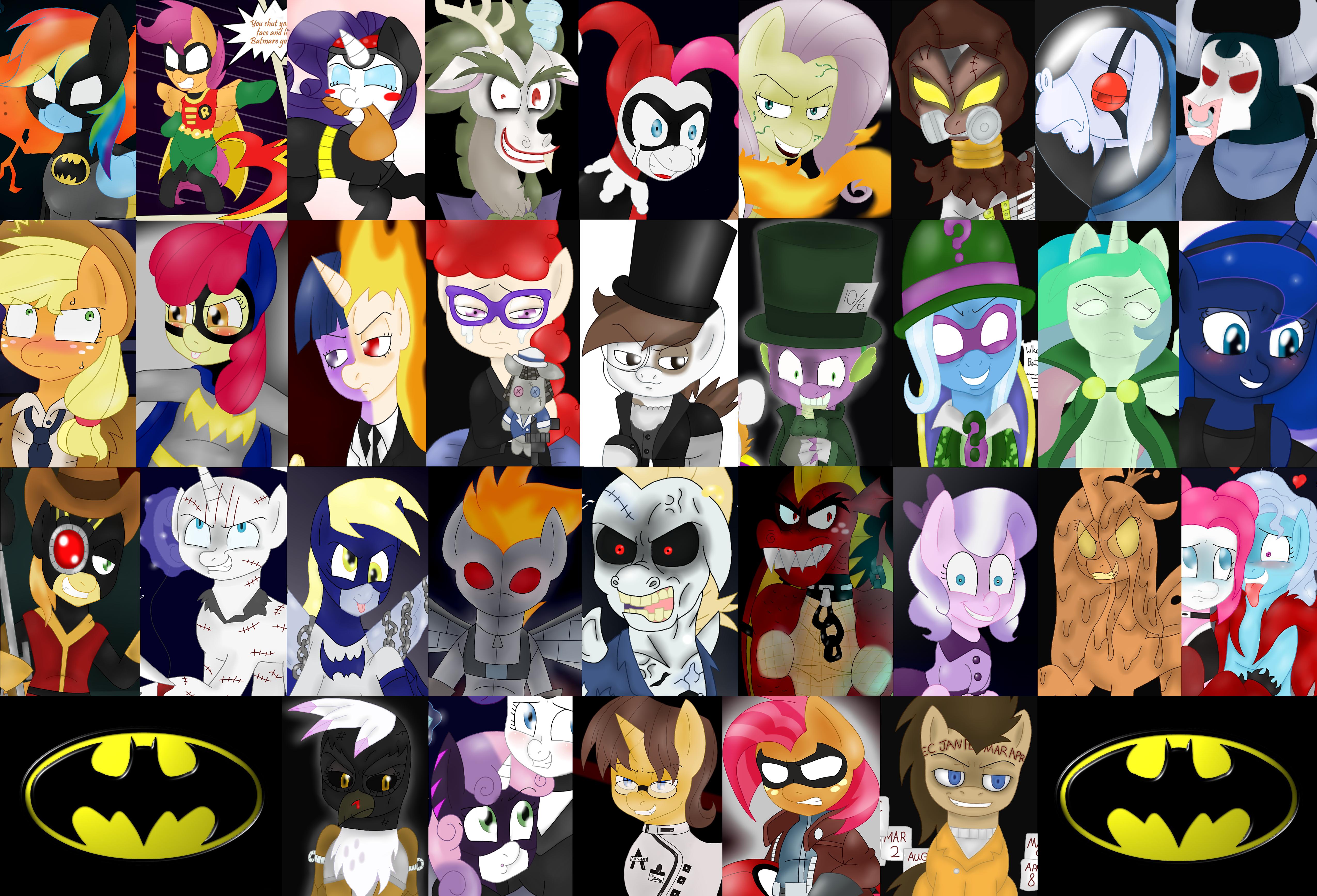 Batmare cast of 2012 by BlackBeWhite2k7