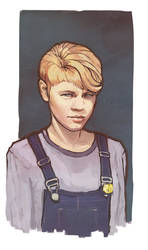 Portrait commission by Kolosova-Art