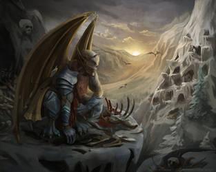 Gargoyles (for DoE) by Kolosova-Art