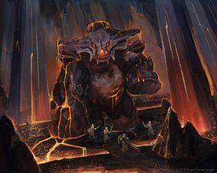 The Vaznarite Colossus by Kolosova-Art