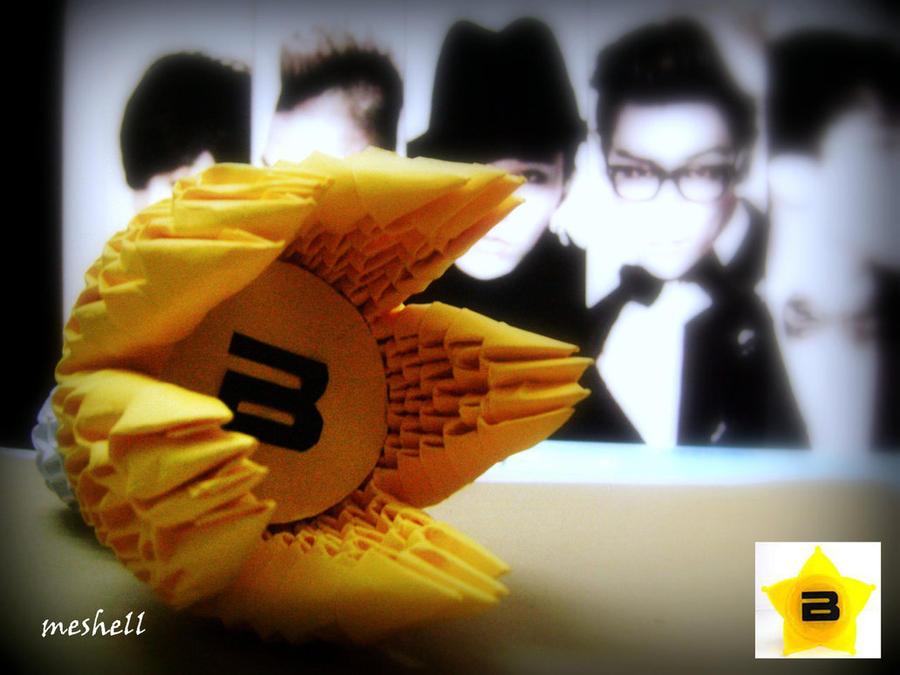 BIGBANG Lightstick 3d Origami By Meshell1129 ...