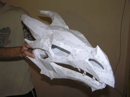PEPAKURA - Skyrim dragon skull 2