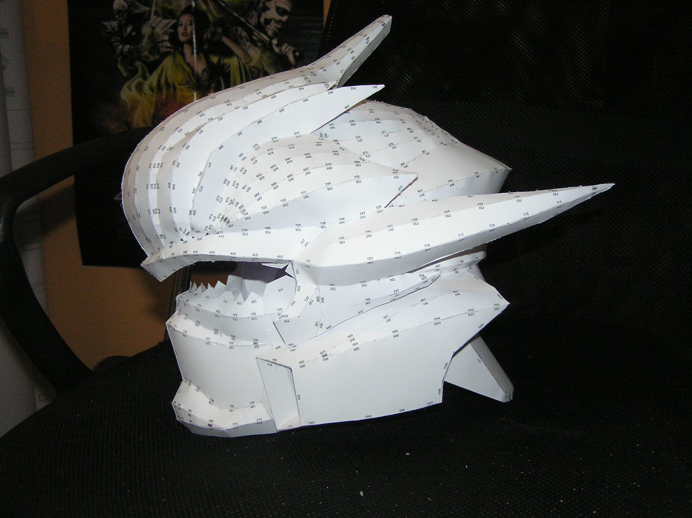 PEPAKURA - Halo Hayabusa 1/2 by distressfasirt on DeviantArt
