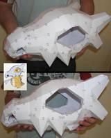 PEPAKURA - Cubone Skull Helmet by distressfasirt