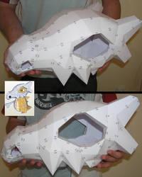 PEPAKURA - Cubone Skull Helmet