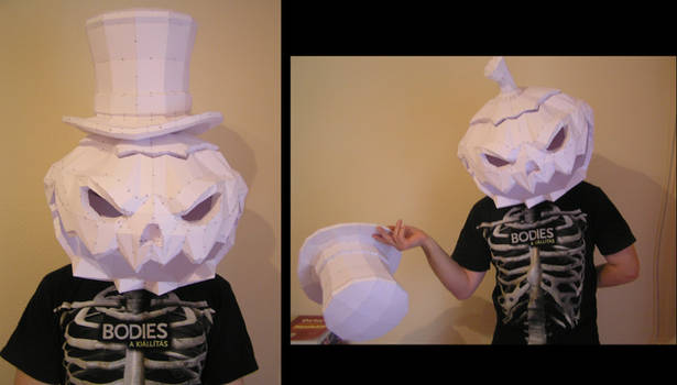 PEPAKURA - Halloween Pumpkin Head