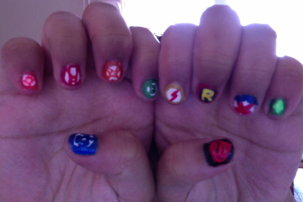 #HeroesNeverDie Nails by princesseru10