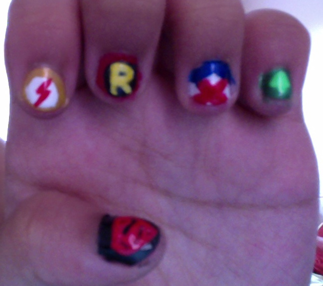 Young Justice Nails by princesseru10 on DeviantArt