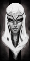 Random Elf Girl by demetkilic