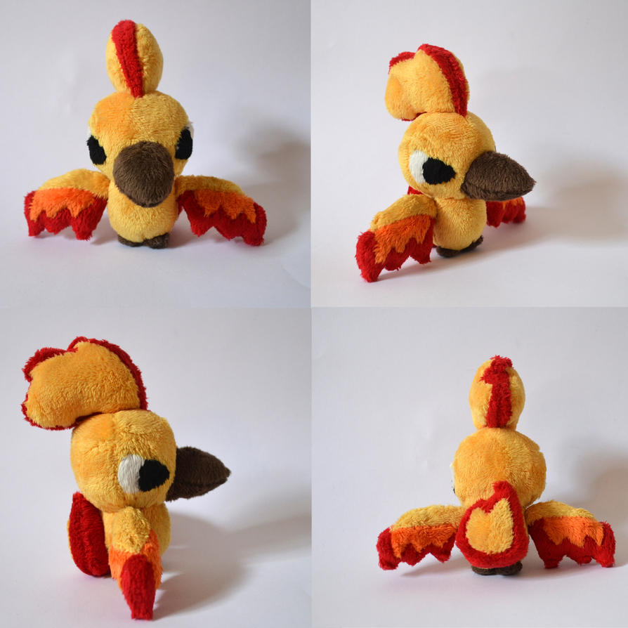 Moltres Mock Mini Pokedoll by Pannsie