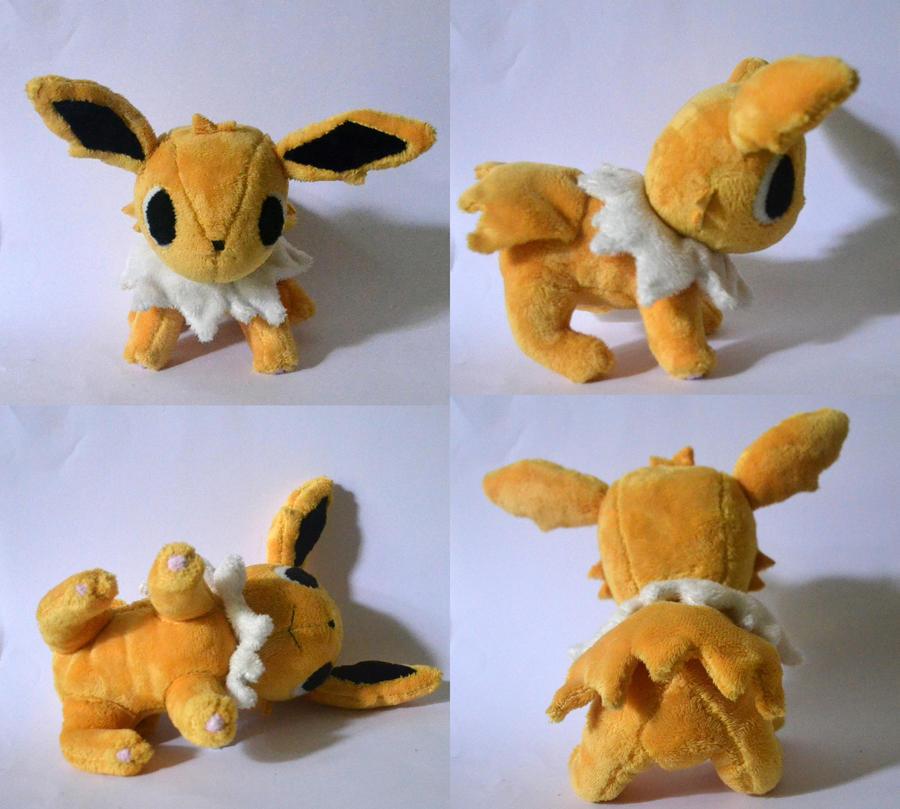 Jolteon Pokemon Time Plush by Pannsie