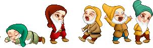 Day 5: Seven Dwarfs by bcboo