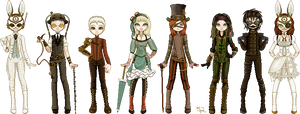 Mad Steampunk Party by bcboo