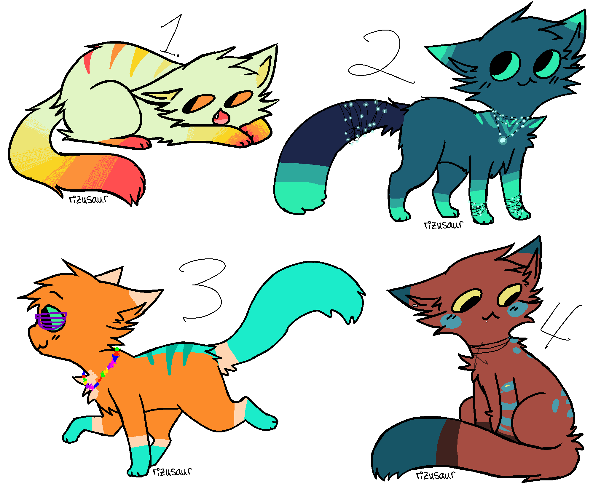 Cat Adopts Auction 1/? by FragIie-Dreams