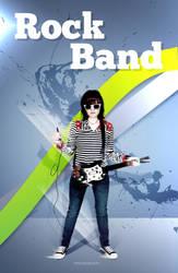 rockband by ramonvillaw