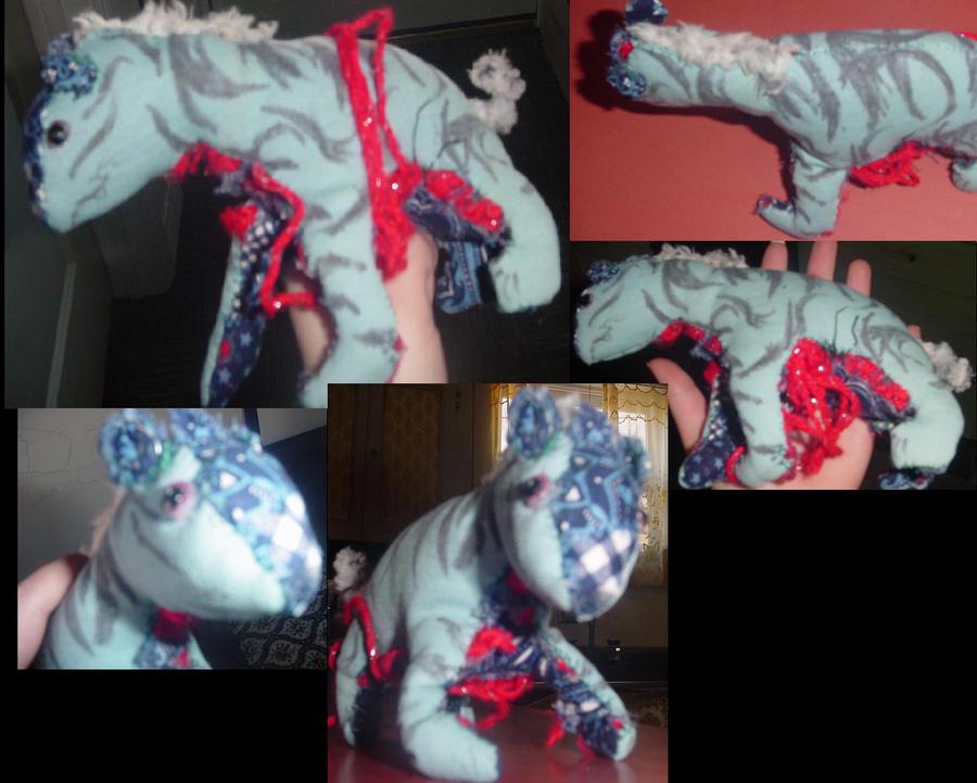 Disemboweled Hyena Plushie by ixtu