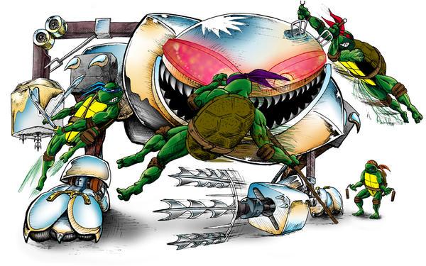http://fc07.deviantart.net/fs41/i/2009/014/d/6/turtles_fighting_a_thing_TMNT_by_johnercek.jpg