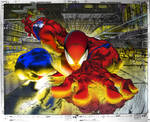 spiderman coloring exercise 2