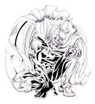 batman crouch ink