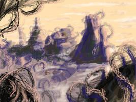 valley of razor by johnercek