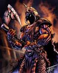 TomGo's DeathDealer in color