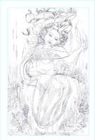mermaid bubble bath by johnercek