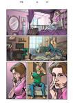bedroom scenes comic color