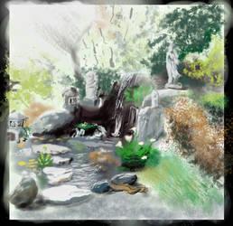 Speedpaint Study: Shrine